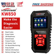 KONNWEI KW850 OBD2 Car Scanner Auto Diagnostic Tool OBD-II Code Reader USA B4C4