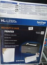 Brother HLL2320D Compact Monochrome Duplex Laser Printer HL-L2320D *NEW*