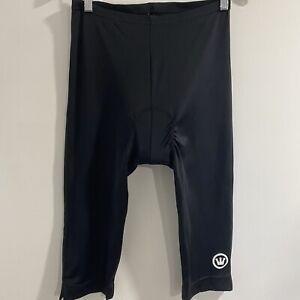 Canari Men's Black Padded Cycling Riding Shorts Size Large