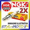 KIT 2 CANDELE NGK SPARK PLUG BP8ES MOTO MORINI 400 Dart 400 1991