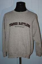 2002 Jansport MiLb Wisconsin Timber Rattlers Script Crewneck Sweatshirt Xl