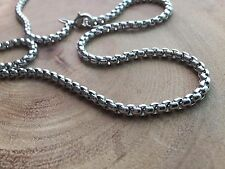 Chain necklace, Chain for man, stainless steel chain, men's necklace, box chain