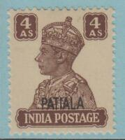 INDIA PATIALA STATE 111 MINT NEVER HINGED OG ** NO FAULTS EXTRA FINE !