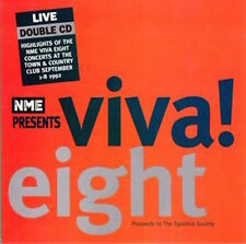 NME VIVA EIGHT cd LIVE w/Cabaret Voltaire/Nick Cave/Redd Kross/Jah Wobble/Bad II