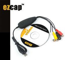 EzCAP172 USB Video Capture Card Grabber - supersedes EzCAP 170,Win 7 Win10 64bit