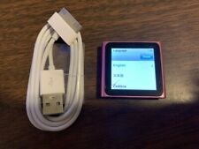 Apple iPod nano 6th Generation Pink (8 GB) Bundle