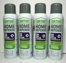 Ortho Home Defense Bed Bug Killer W/ Essential Oils, Kills In Seconds 4 Pack