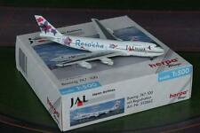 NEW HERPA WINGS 512862 JAL JAPAN AIRLINES BOEING 747-100 SCALE 1:500 RARE MIB
