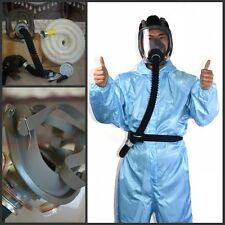 Pro Powered Supplied fresh Air Fed system full 6800 Respirator Mask +10m hose