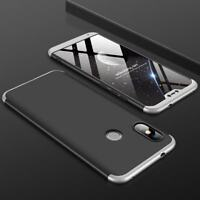 Funda Xiaomi Redmi MI A2 LITE 360 Carcasa Coques Case Caso negro gris black silv