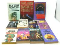11 Book Lot: ISAAC ASIMOV Science Fiction Sci Fi SCIFI Robots Foundation