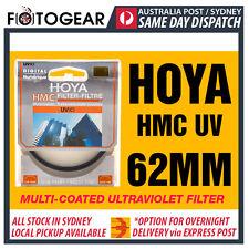 Genuine HOYA 62mm HMC UV (C) Multi-Coated Slim Filter for Canon Nikon Sony