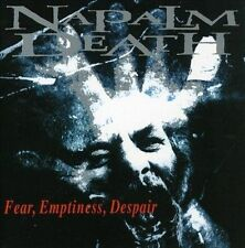 Fear, Emptiness, Despair NAPALM DEATH CD ( FREE SHIPPING)
