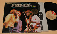 BEE GEES:2LP-HERE AT LAST LIVE-1°PR ITALY 1977 EX+
