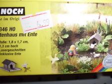 14346  Noch  Laser Cut Minis Entenhaus mit Ente  Neuheit 2012