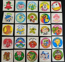 RARE 80s 90s Vintage Mrs Grossman's Sailboat Ship Retired Stickers