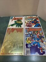 Lot of 4 Avengers #343, 344, 366, 367 Marvel Comics *Estate Find/Collector