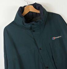 Mens Blue Berghaus Hooded Jacket Size XXL XXXL Original  : J890