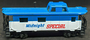 TYCO: Midnight Special CABOOSE. VINTAGE HO SCALE, BLUE Vintage NICE!