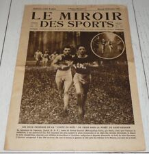 MIROIR SPORTS 1925 #294 CROSS TANTIN FOOTBALL RED STAR BOXE KID FRANCIS RUGBY