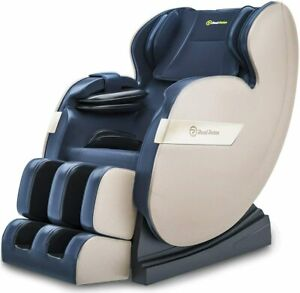 RealRelax Full Body Shiatsu Massagesessel Favor-03 plus TJX Farbe Blau