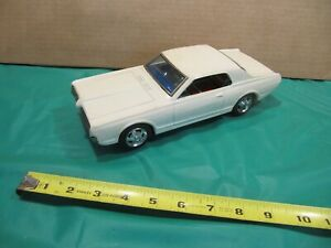 Taiyo Mercury Cougar battery operated Bump 'N Go toy car from the 1960's.