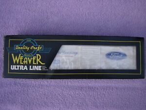 (2 RAIL) O Scale Weaver PS-1 Sliding Door Boxcar Ford / P/N #2002