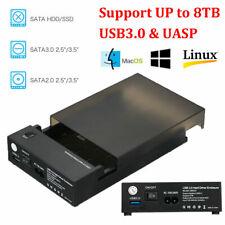 """USB 3.0 2.5"""" 3.5""""  IDE Festplattengehäuse Extern Gehäuse Festplatte Case Z6K9"""