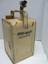 Vintage Valor Esso Blue Paraffin Can /mancave/garage display