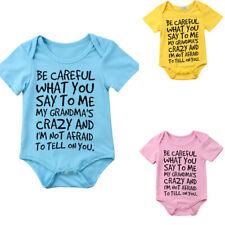 Newborn Infant Boy Girl Kids Romper Jumpsuit Bodysuit Summer Clothes Outfit