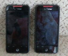 LOT OF 2 HTC ARD6300 DROID INCREDIBLE 4G LTE - 8GB - BLACK (VERIZON) SMARTPHONE