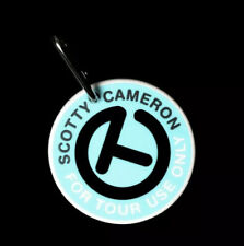 Scotty Cameron Limited Circle T-Putting Disc Tiffany Blue Bag Tags