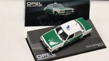 MAG HH089, OPEL COLLECTION, OPEL REKORD D, POLIZEI, 1:43 SCALE