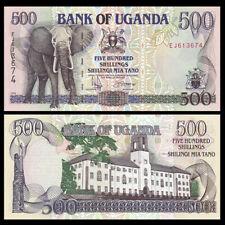Uganda 500 Shillings, 1996, P-35a, banknote, UNC