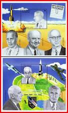 ST.VINCENT 1994 SPACE /FAMOUS NAZI SCIENTIESTS SC#2082-83 MNH CV$13.00 ASTRONOMY