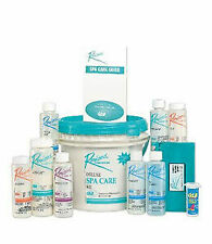 Rendezvous Bromine Deluxe Spa Hot Tub Care Start Up Chemical Kit & Guide