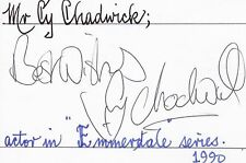 Signed Cards C Television Certified Original Autographs