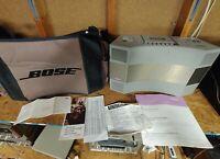 Vintage Bose Acoustic Wave Music System Model AW-1 AM/FM Cassette Player