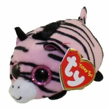 "TY Beanie Boos Teeny Tys 4"" PENNIE the Zebra Stackable Plush Stuffed Animal Toy"