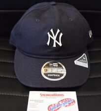 sports shoes 4742e 2a627 New Era New York Yankees 9Fifty Metal Badge Snapback Hat Navy Retro Crown