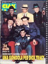 MADONNA on Cover & Within Italian CIAK Magazine, Sept 1990. Free WW Post