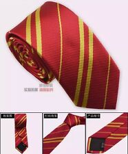 Harry Potter Gryffindor Red & Gold Narrow Neck Tie For Men & Women US Seller
