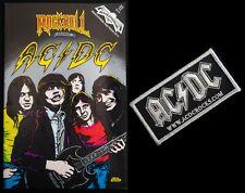 AC/DC - Rock N Roll Comics Feb 1991 & AC/DC Patch! VINTAGE RARE Variant Edition!