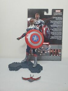 "Marvel Legends 6"" Captain America Falcon Sam Wilson MCU Disney + Anthony Mackie"