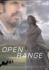 OPEN RANGE Movie POSTER 27x40 UK B Robert Duvall Kevin Costner Annette Bening