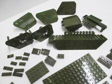 Mega Bloks Bricks Army Green 102 various pieces  Military Armor Halo ? Lego