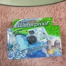 Fujifilm Quick Snap Waterproof 27 exp. 35mm Camera 800 film - Blue/Green/white