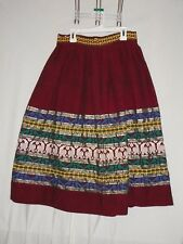 Vintage home made  Midi Skirt sz 13