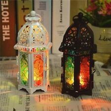 lot of 2 Moroccan style Candle holders.