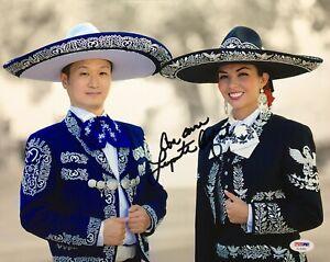 Lupita Infante Signed 11x14 Photo *Model *Musician PSA AC45869